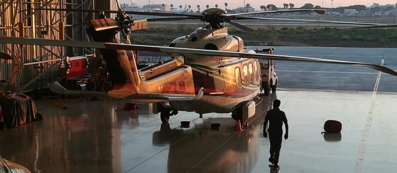 Hangar sunrise edited